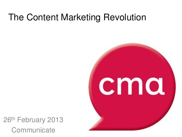 Content Marketing Association - tablet consumption