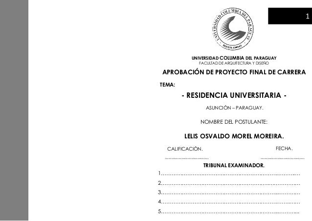 Proyecto final de carrera residencia universitaria share for Arquitectura carrera universitaria