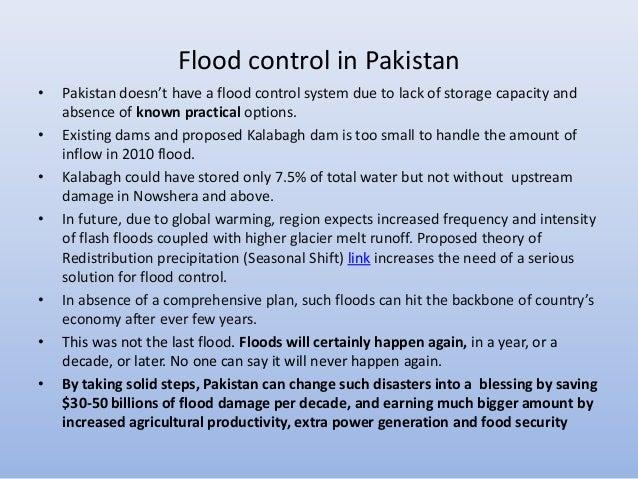 Flood Control Dam Flood Control in Pakistan