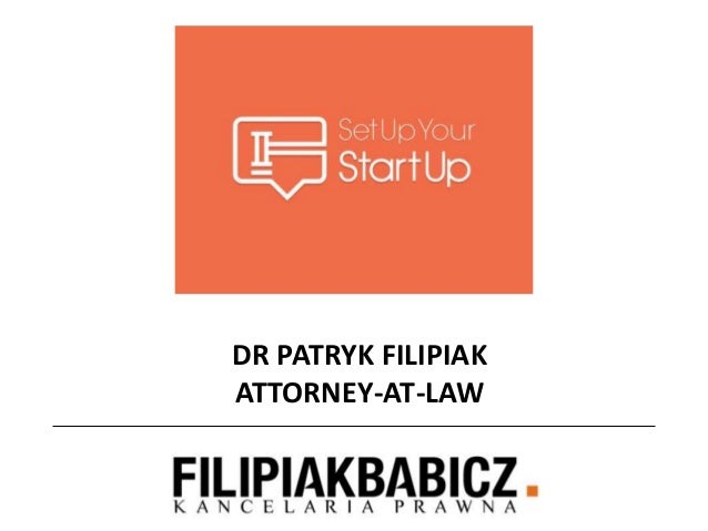 DR PATRYK FILIPIAKATTORNEY-AT-LAW