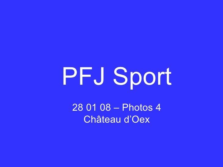 PFJ Sport 28 01 08 – Photos 4 Château d'Oex