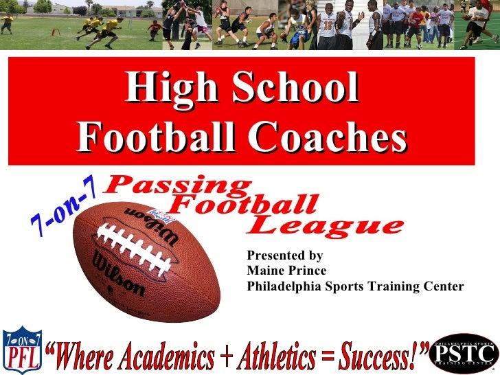 PFL Football Coach Presentation