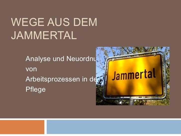 NPK2012 - Andrea Albrecht: Wege aus dem Jammertal