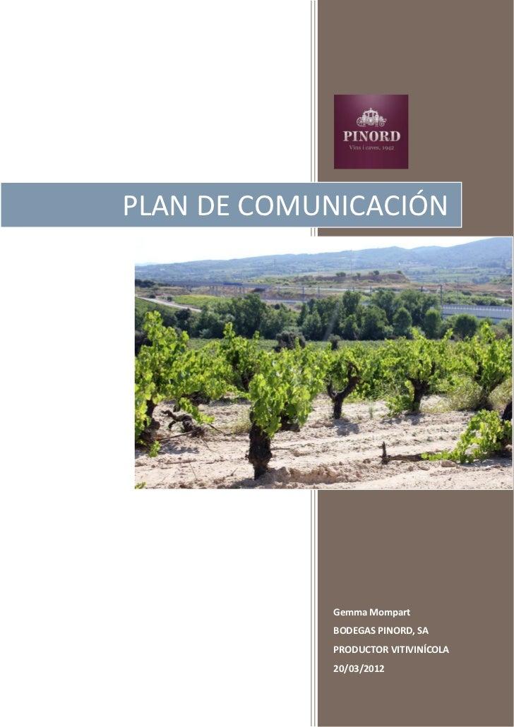 Plan de Comunicación 2012. Postgrado Social Media & Community Management, IL3 Universitat de Barcelona