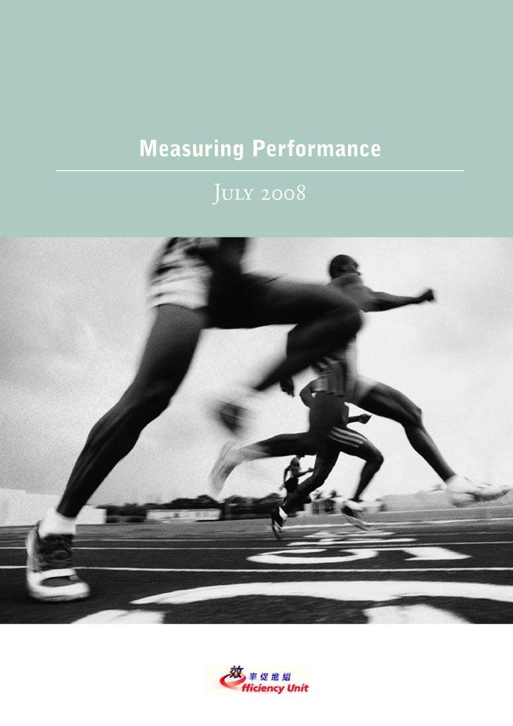 Pfm Measure 2008