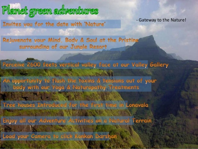 Planet Green Adventures, Lonavala
