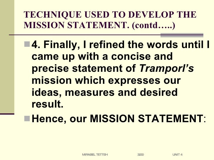 Management Tools Mission And Vision Statements Bain Oukasfo