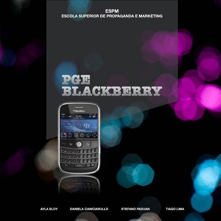 Black Berry - ESPM