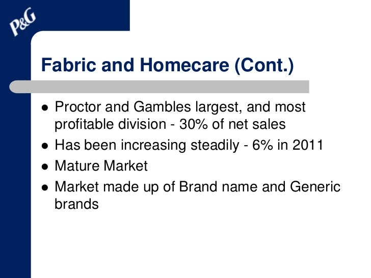 """a strategic analysis of proctor and gamble """" this corporate mission contains a detailed specification that influences procter & gamble's strategic  panmore institute  analysis procter & gamble's."""