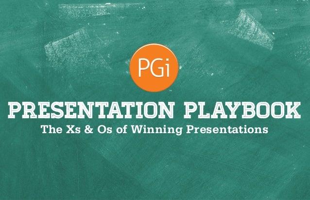 Presentation Ideas Playbook