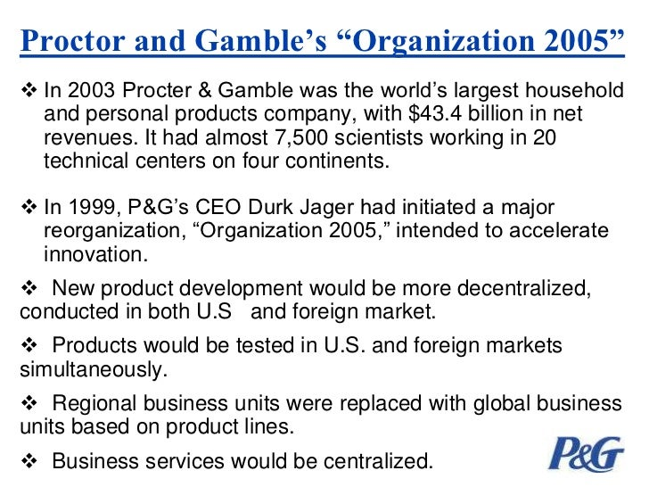 relationship between procter and gamble and walmart Describes the retailer-supplier negotiations of tom muccio, one of the earlier  proctor & gamble (p&g) employees to be based in bentonville, arkansas,.