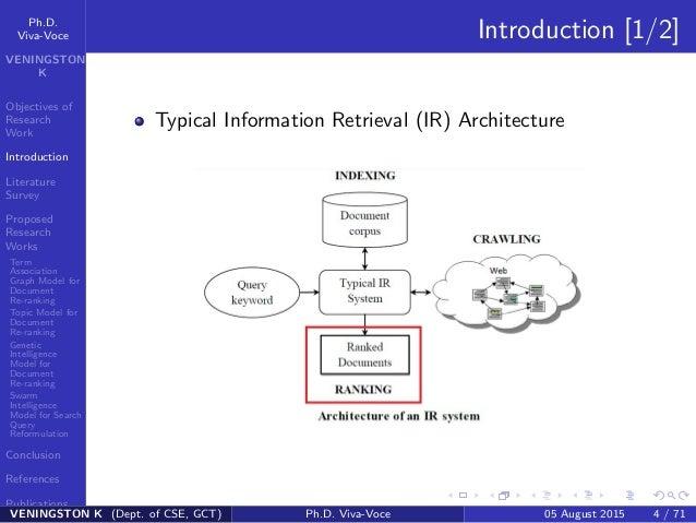 Research paper information retrieval techniques