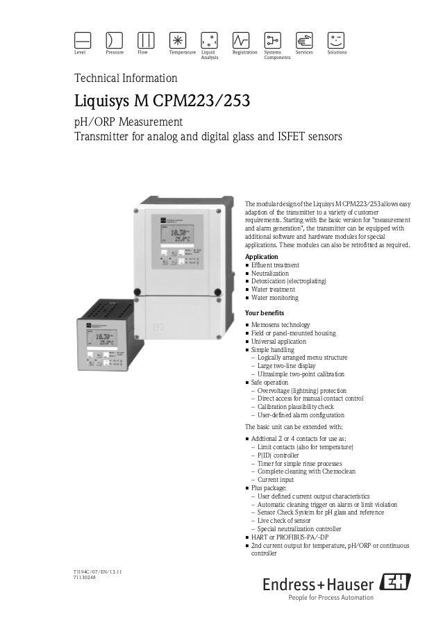 pH.ORP Transmitter-Analog and digital glass