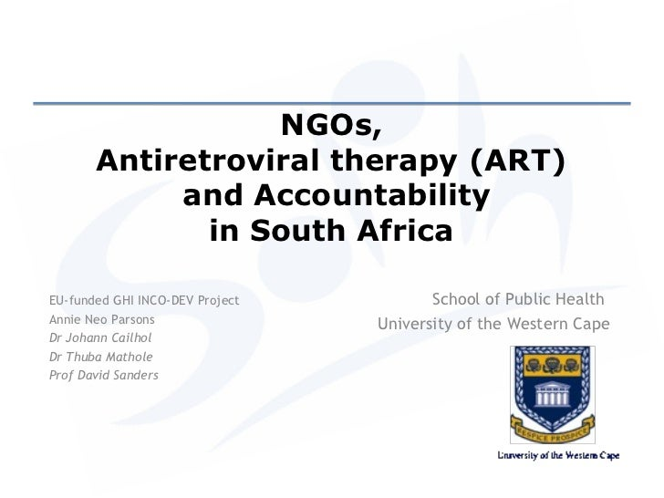People's Health Assembly 2012: Global Health Initiatives, Civil Society and the Evolution of Accountability, Part 3: ART and Accountability in South Africa