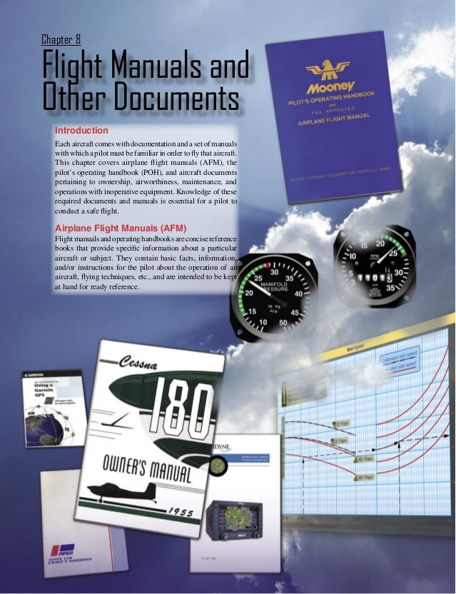 Flight Manuals and other documents - Chapter 08