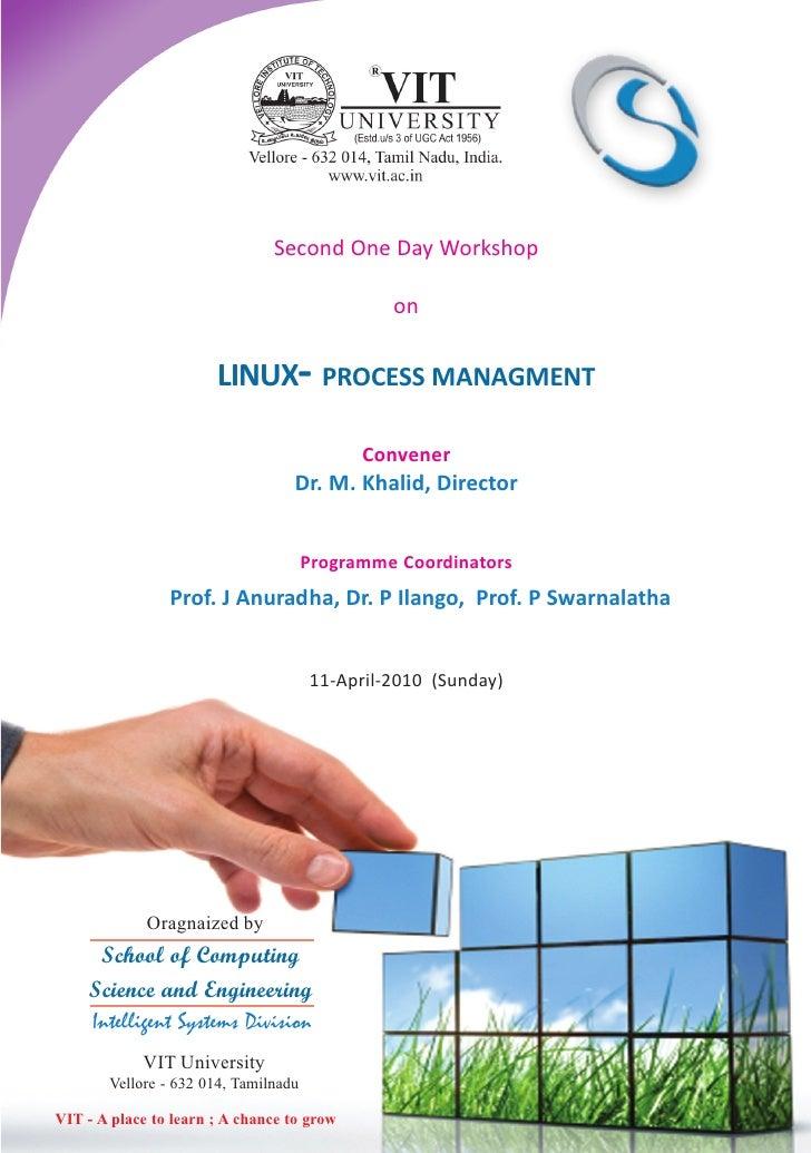 Linux Process Management Workshop
