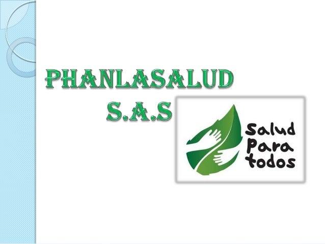 Phanlasalud S.A.S