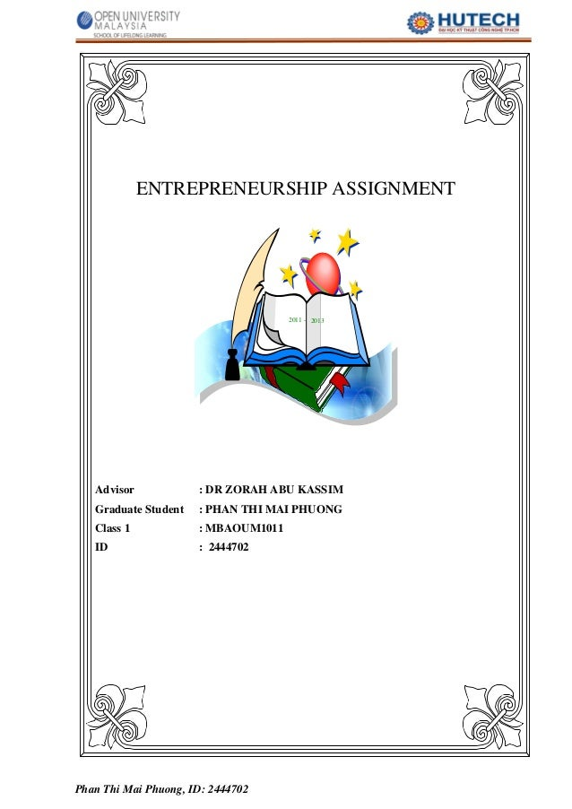 ENTREPRENEURSHIP bmet5103