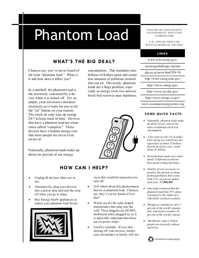 Phantom load