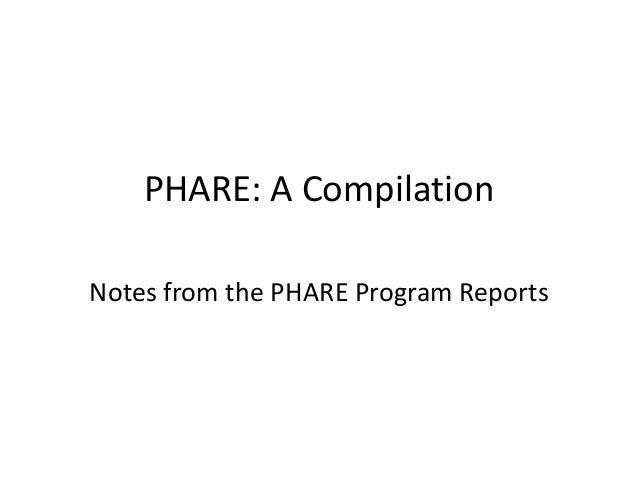 PHARE - Compilation