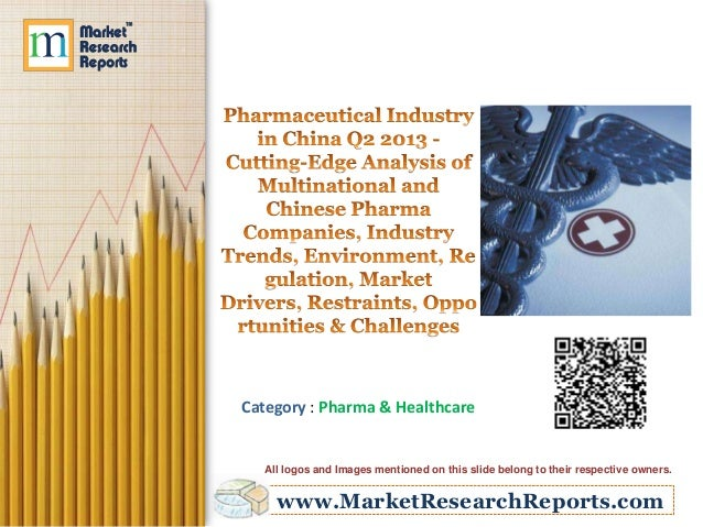 Pharmaceutical Industry in China Q2 2013