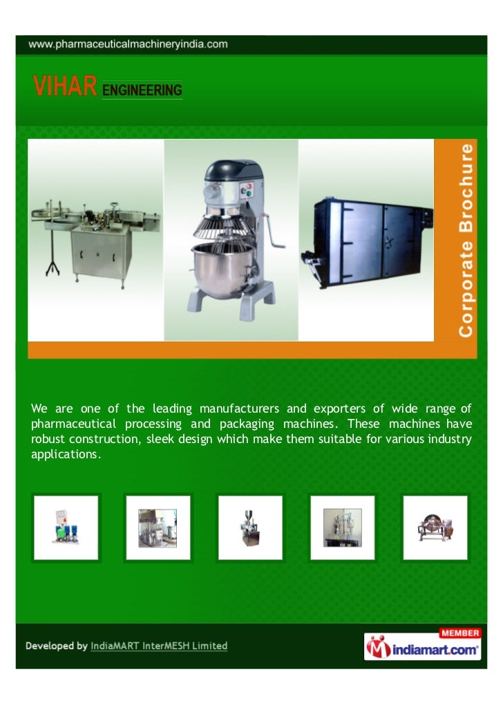 Vihar Engineering, Mumbai, Automatic Ointment