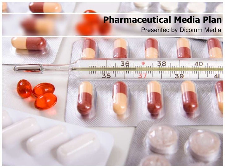 Pharmaceutical media plan pp