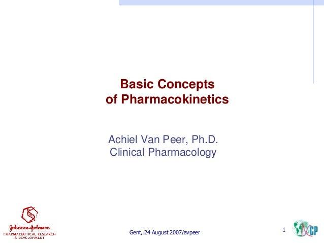 Pharmacocinetic