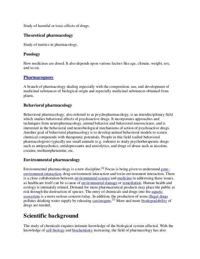 PhD program in Biochem/Pharmacology: confused?