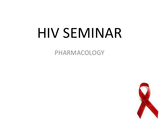 Pharmacology in HIV