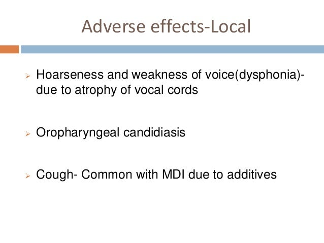 inhaled steroids growth suppression