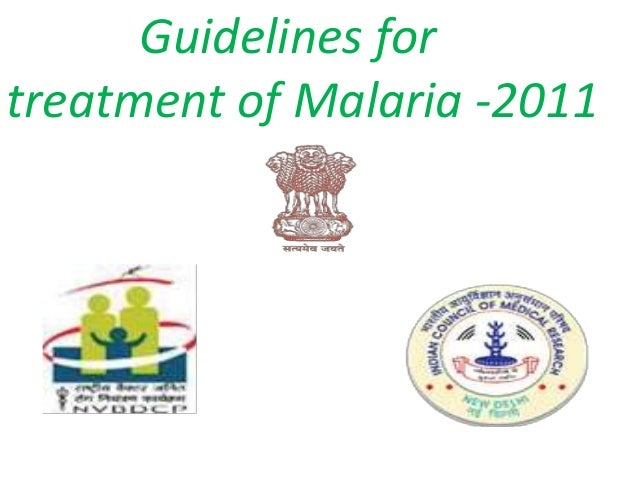 Overview of malaria treatment