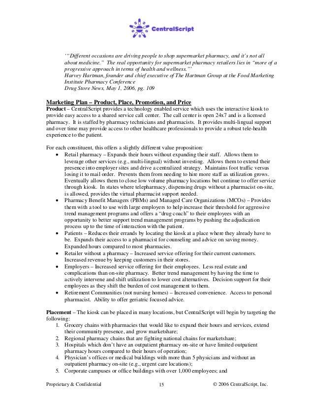 Urgent care center business plan
