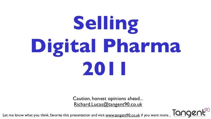 Selling Digital Pharma 2011