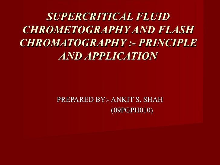 Pharmagupshup supercritical fluid chrometography and flash chromatography   principle and application