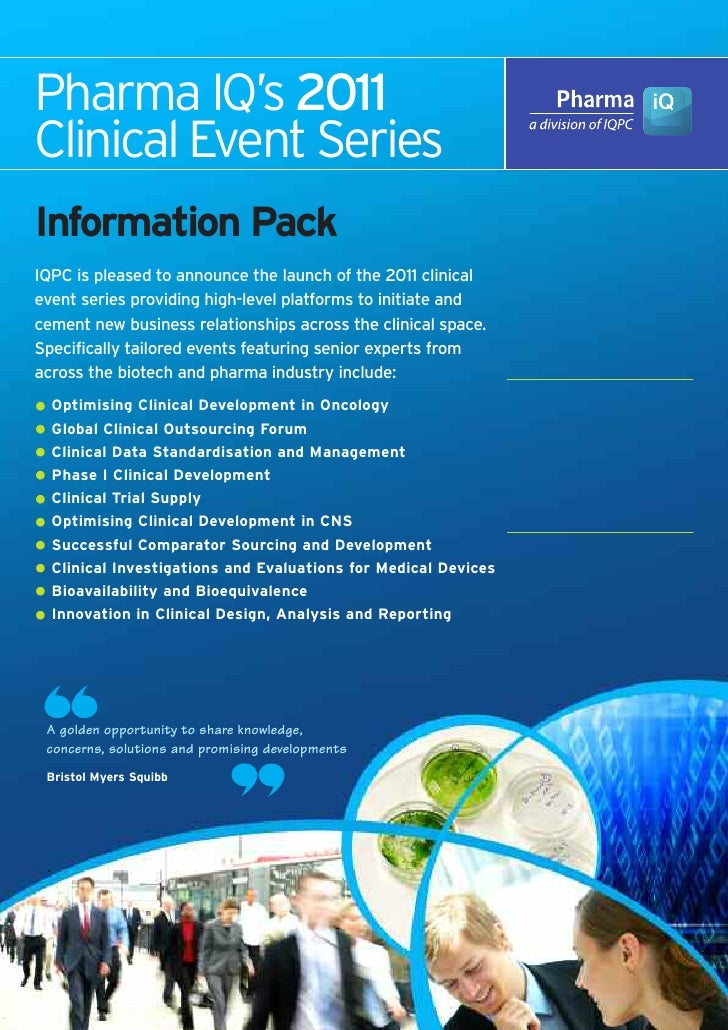 Pharma IQ - Clinical Series 2011