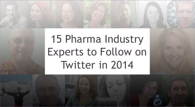 15 Pharma Industry Experts to Follow on Twitter in 2014