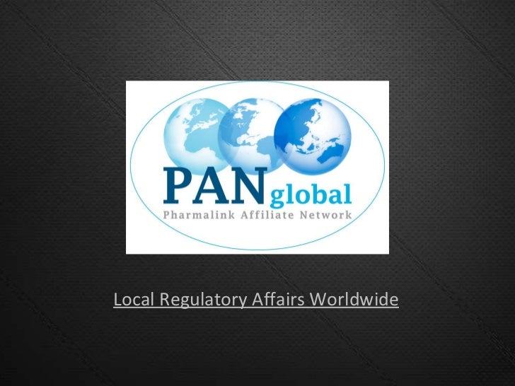 Local Regulatory Affairs Worldwide