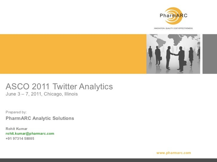 PharmARC - ASCO 2011 Twitter Analysis of Top Links Shared and Comments on Molecules (3rd through 7th june)