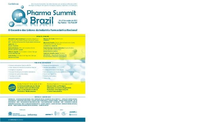 Conferência                               Único Encontro Farmacêutico dos Lideres Nacionais com a presença confirmado do I...