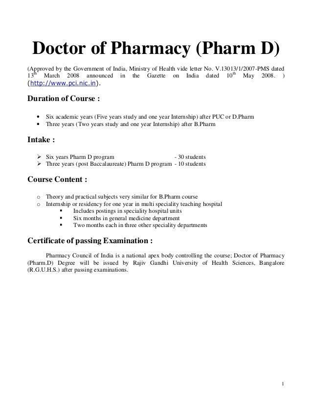 Pharm d 2
