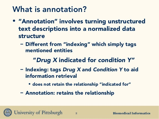 Annotation Of Dissertation