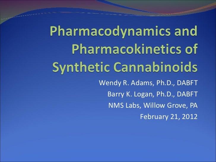 Pharmacodynamics and Pharmacokinetics of Synthetic Cannabinoids