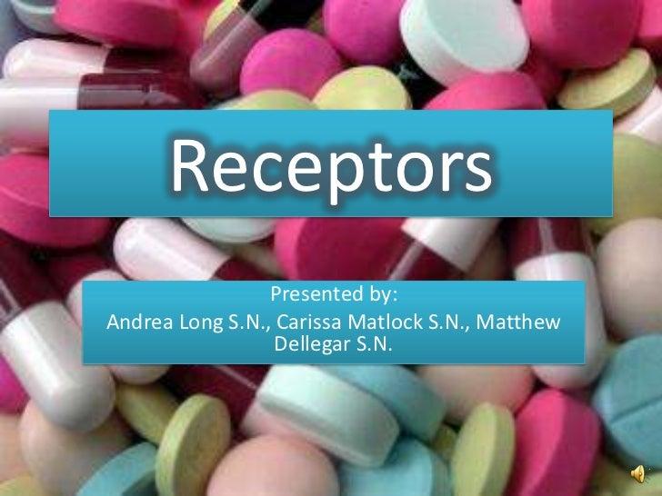 Pharm receptors ppt