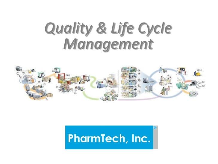PharmTech QMS presentation