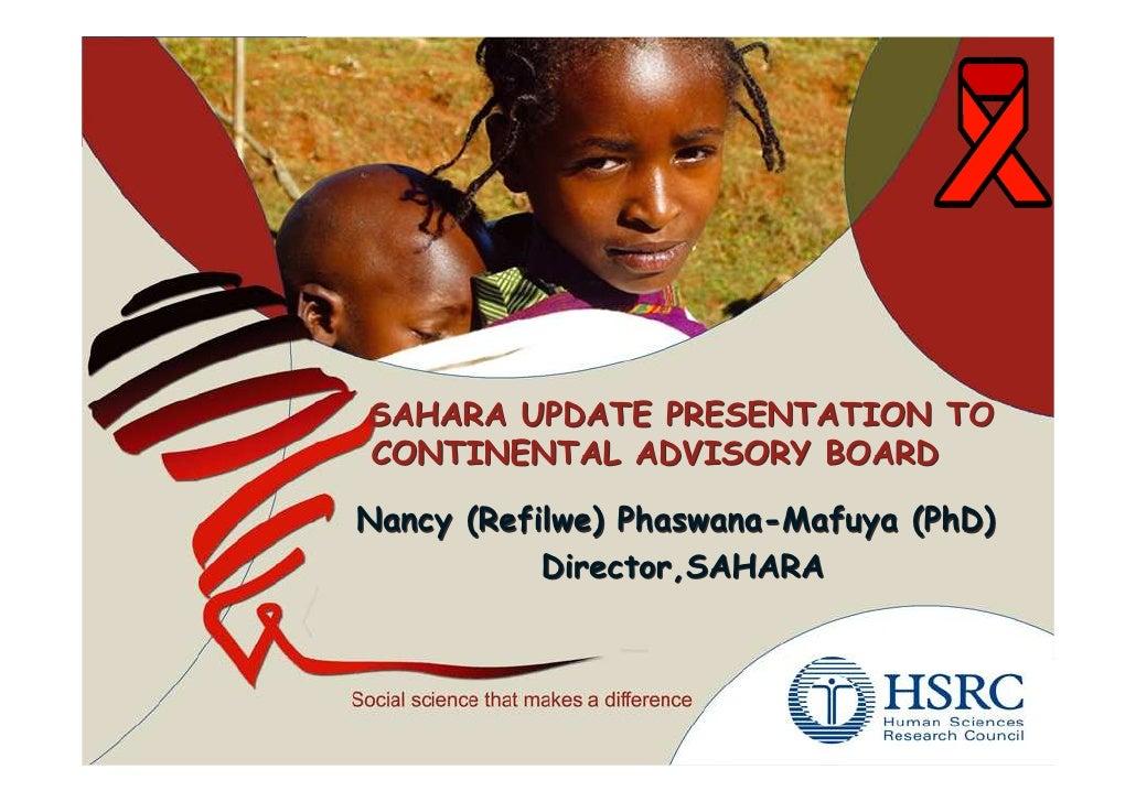 Phaswana Mafuya (Update Report