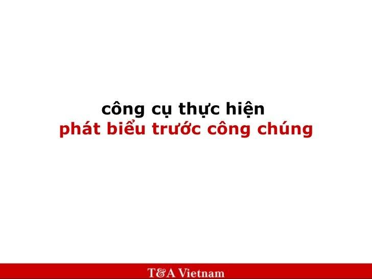 Phat bieu-truoc-cong-chung
