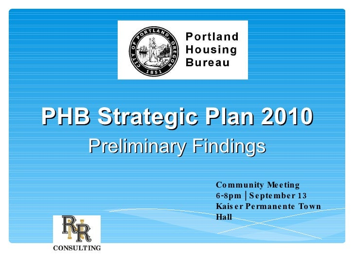 Initial Findings from Community Survey on Housing Needs
