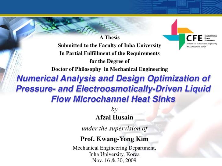 M S Thesis Presentation