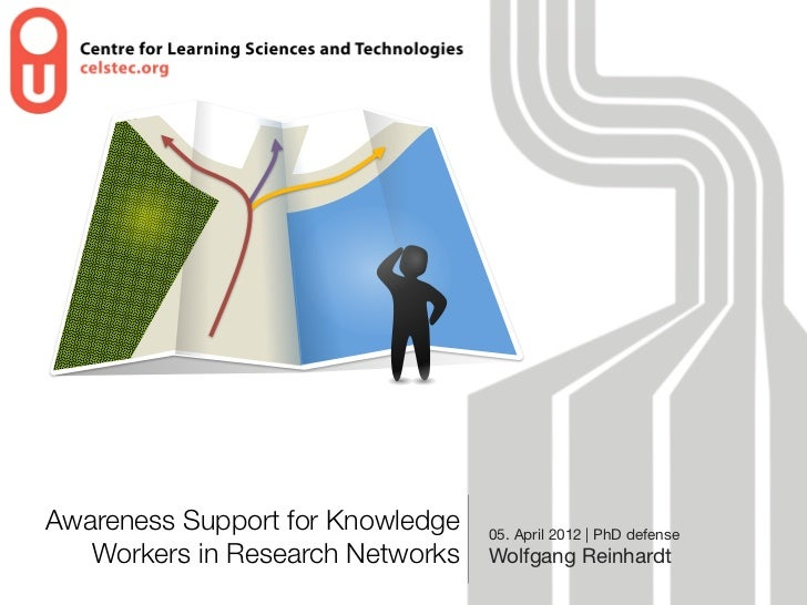 Awareness Support for Knowledge   05. April 2012 | PhD defense   Workers in Research Networks   Wolfgang Reinhardt